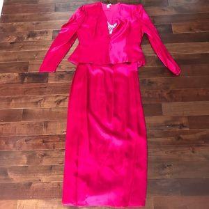 4bcfa5b8e61 jcpenney Dresses - FABULOUS 80 s Prom Party Dress Gown Sz 18 Vintage